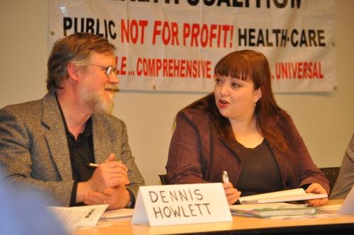 Dennis Howlett and Natalie Mehra