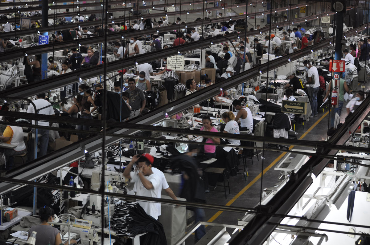 This Is One Of The Better Factories In Free Trade Zones