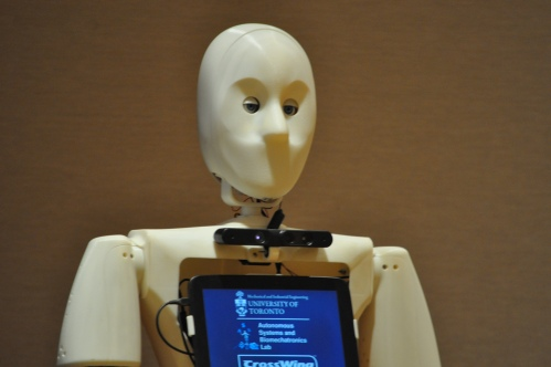 Casper the robot is in development to serve seniors with cognitive disabilities in the home.