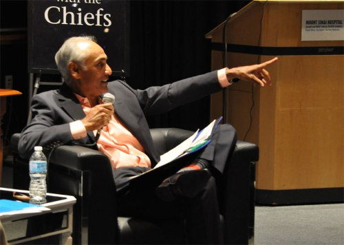 Photograph of former Canada Health Infoway CEO Richard Alvarez at Breakfast With the Chiefs.
