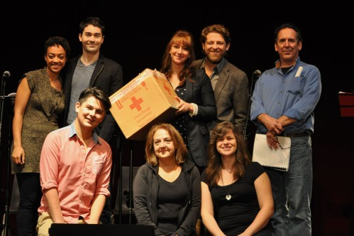 Cast of Tainted in London Ontario.
