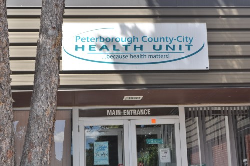 Photograph of the Peterborough County-City Health Unit front entrance.
